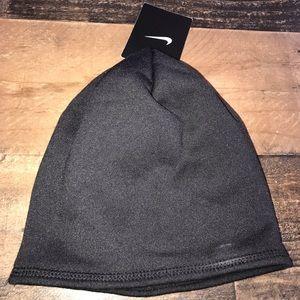 7d5a338c1a278 Nike Accessories - Nike black purple women s skull cap hat winter